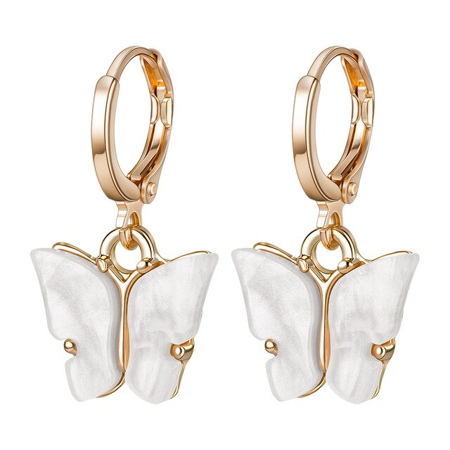 Aesthetic  Butterfly Drop Earrings