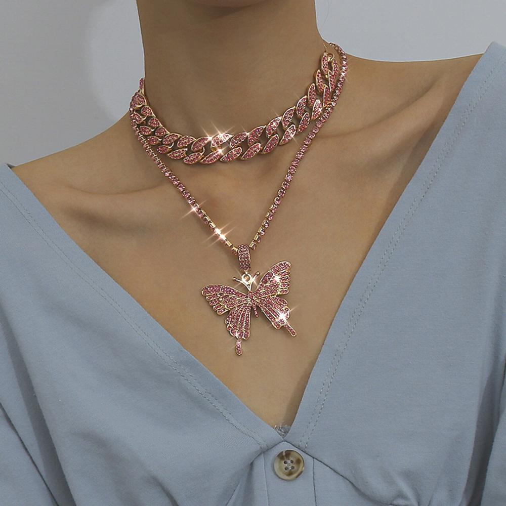 Cuban Link Chain Choker Necklace