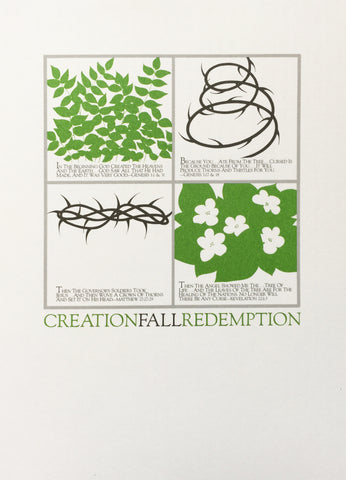 Creation, Fall, Redemption (Blank)