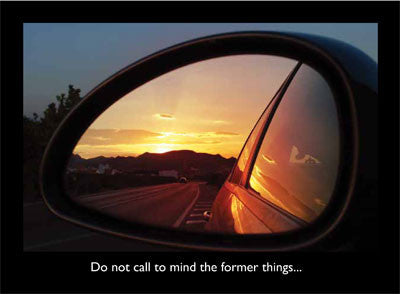 Rearview Mirror Card