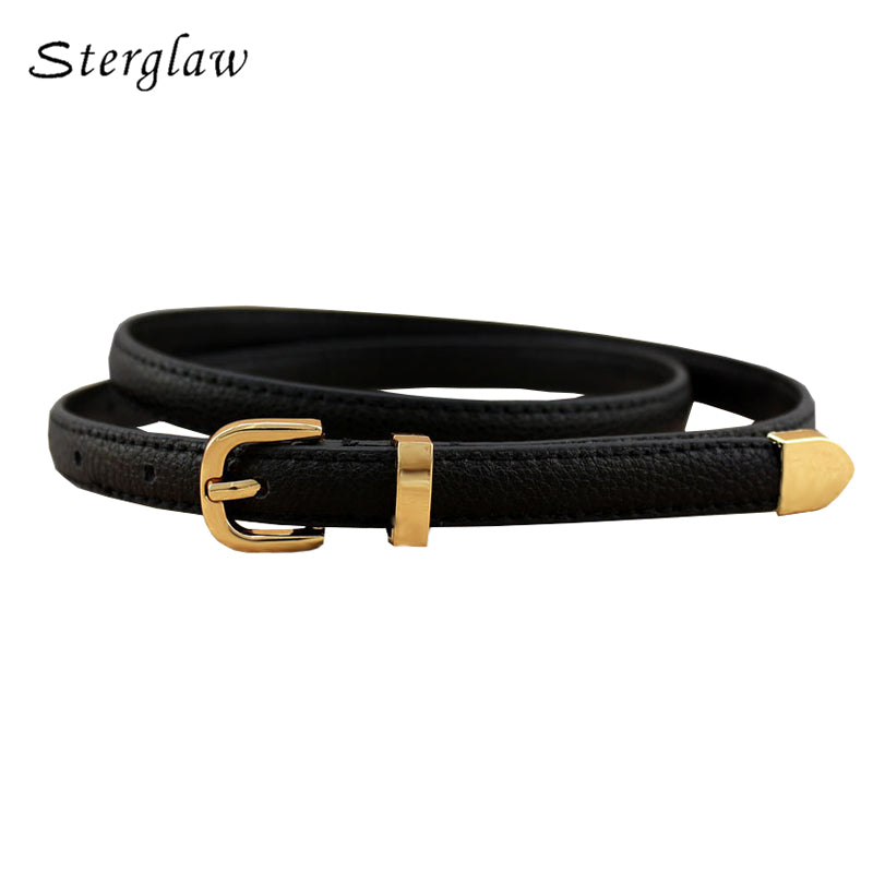 13 colors fashion female thin belt women