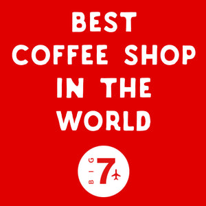 Second time we are listed in the 50 world best coffee shops according to Big7Travel