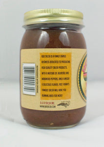 Fast Frank's Famous! Salsa (16 oz. jar) - Mild, Medium or Hot