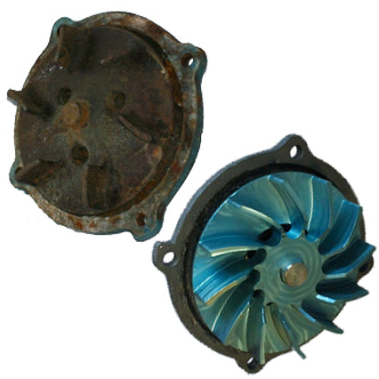 Hi Flow water pumps for numbers matching cars or obsolete castings