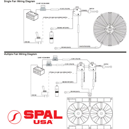 spal wire temperature switch degrees flowkooler