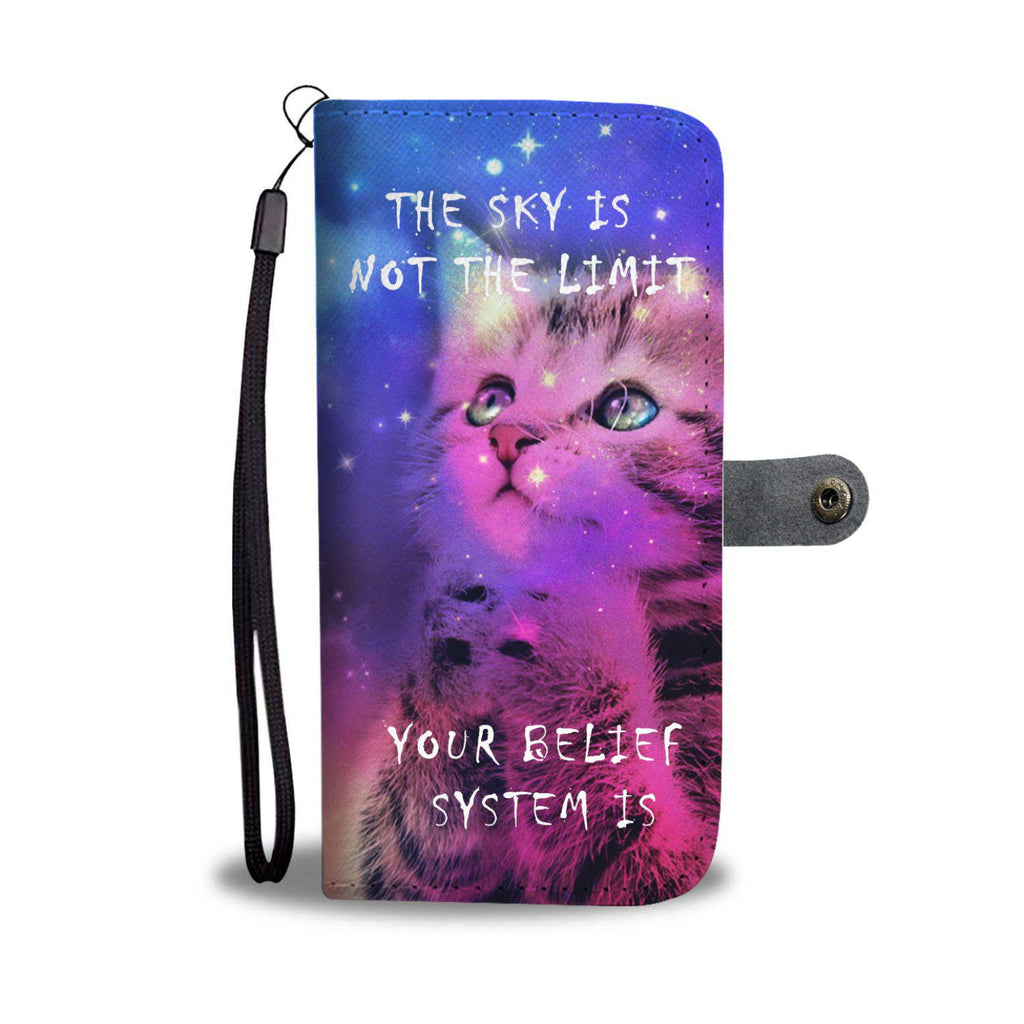 """Belief Kitten"" Wallet Case"