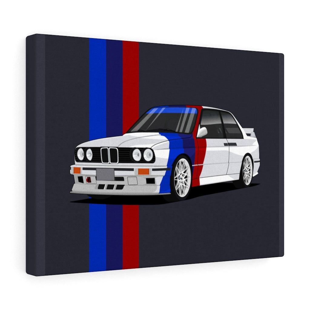 Customized Car Drawing Canvas