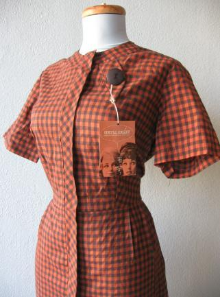 vintage 1960s dress Simpli-Smart hang tag
