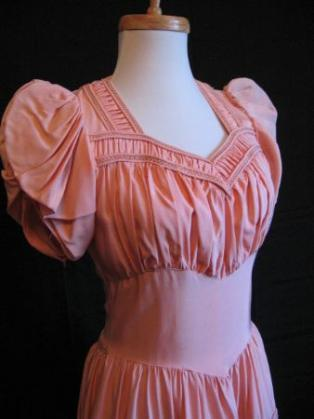 girly vintage 40s dress special occasion