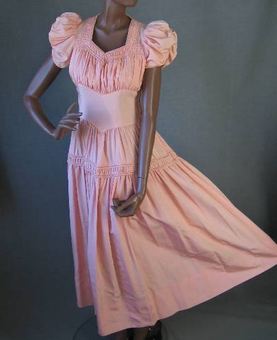 vintage 1930s party dress long