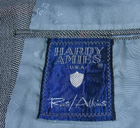 Hardy Amies 60s 70s Vintage Plaid Suit Coat Jacket 40