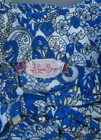 vintage dress Lane Bryant label