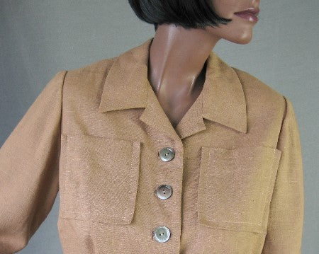 vintage 1950s cropped suit jacket