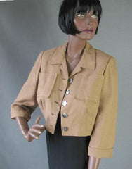 1950s vintage cropped womens jacket