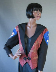 80s Tux Style Jacket Nothing Matches Vintage Yvonne O'Gara