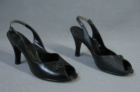50s vintage dressy shoes