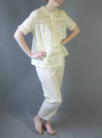 vintage 1950s dolly pajamas