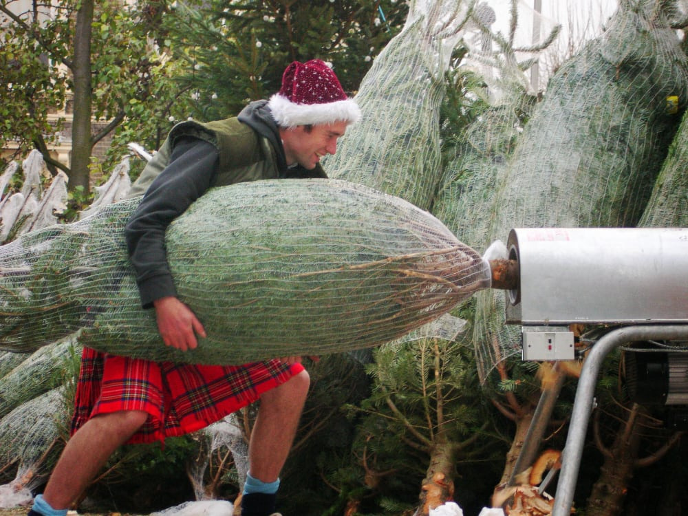 Kilts? What do they have to do with Christmas?