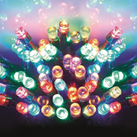 120 Multicolour LED String Lights
