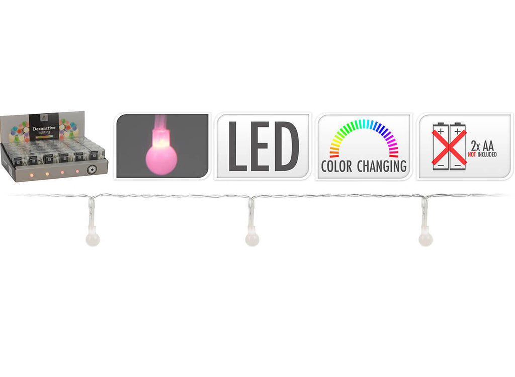 20 Colour Changing Battery Lights