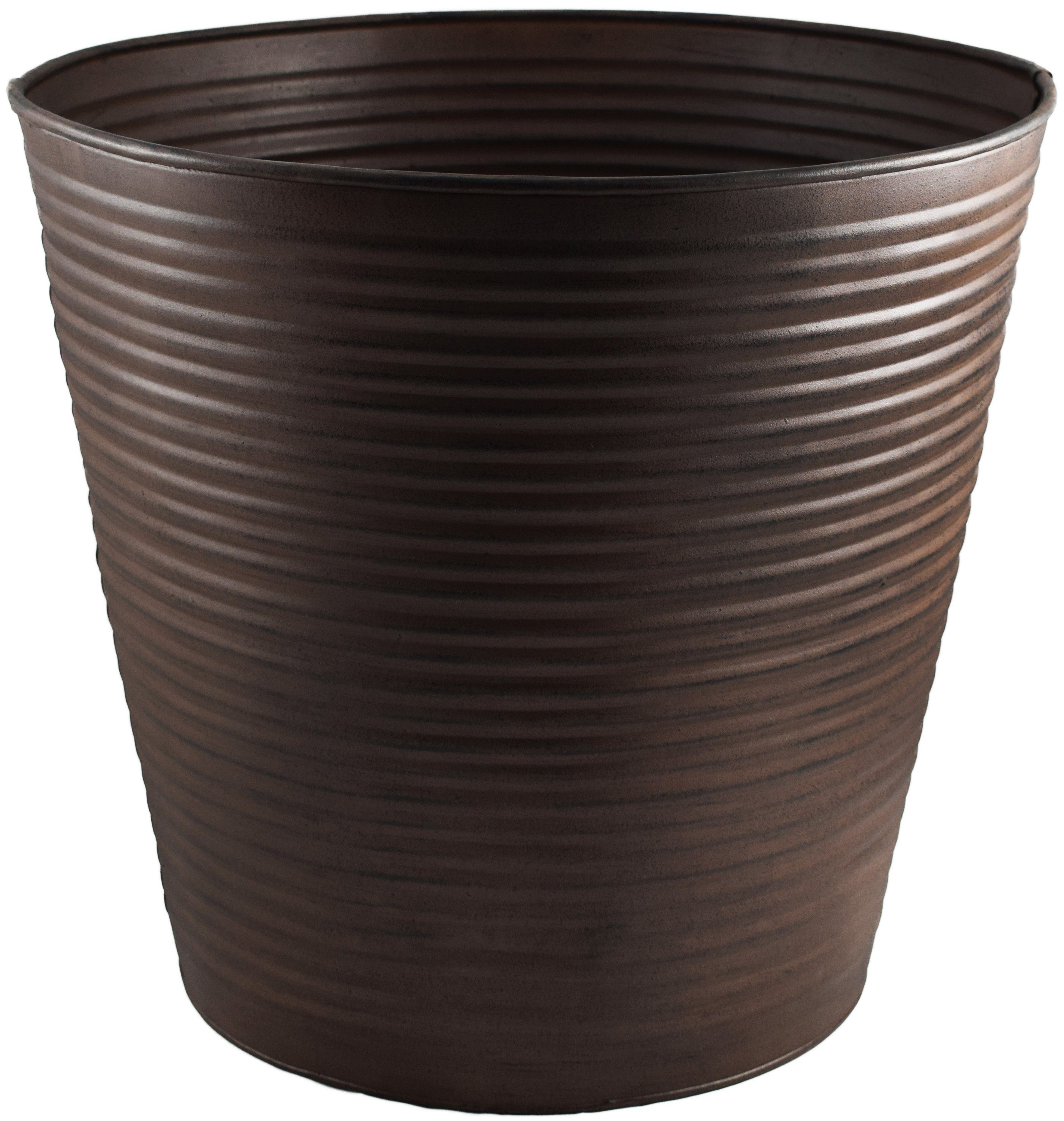 32cm Ribbed Planter for Christmas Trees from Pines and Needles