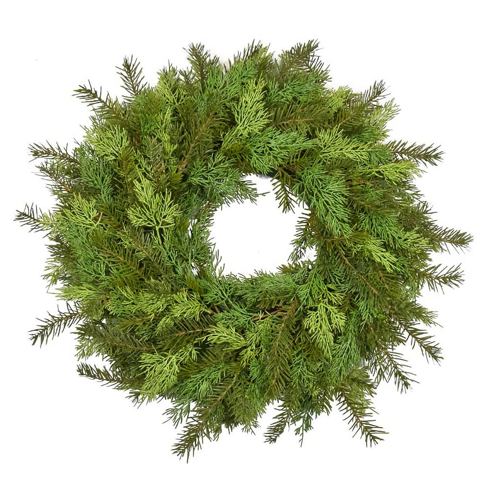 60cm Realistic Artifical Christmas Wreath