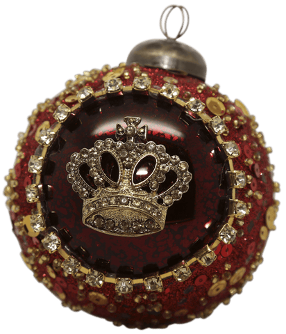 Gisela Graham Golden Crest Bauble