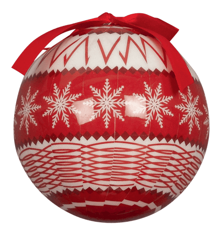 Nordic Decoupage Tree Bauble