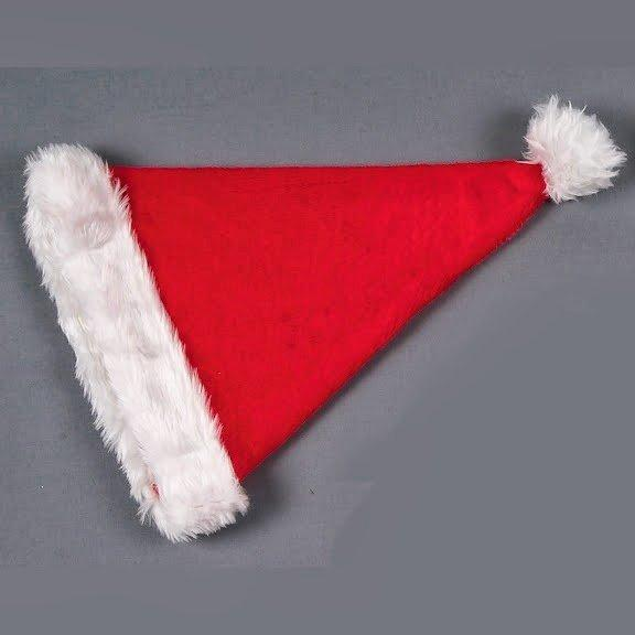 Christmas Tree Decoration Plush Santa Hat