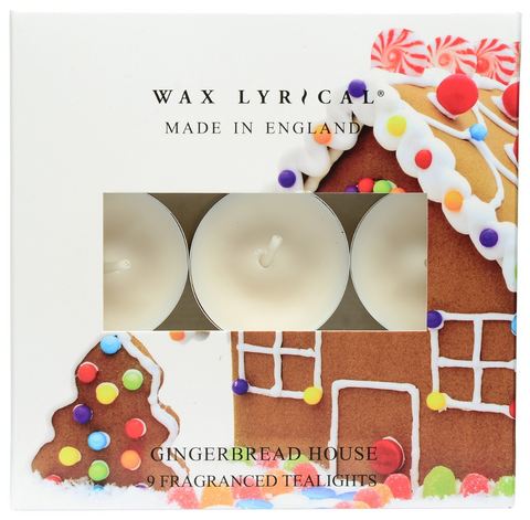 Wax Lyrical Gingerbread Tealights