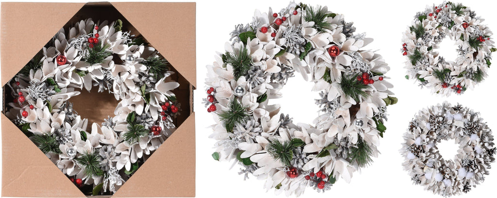 Promotional Snowy Wreath
