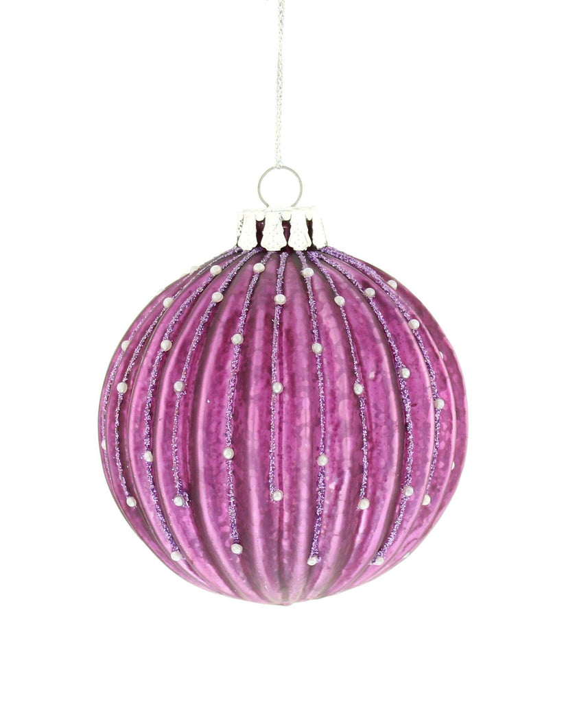 Christmas Tree Decoration Royal Peacock Pearl Ball