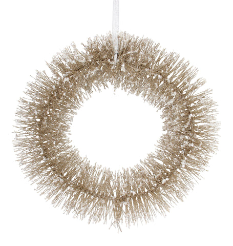 Gisela Graham Crystalised Bead Christmas Wreath
