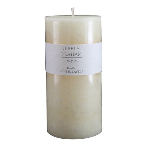 Gisela Graham Vanilla Scented Christmas Candle 15Cm