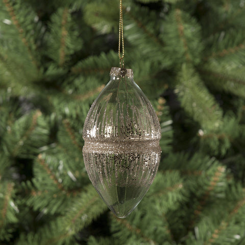 Glass Thread Christmas Tree Decoration