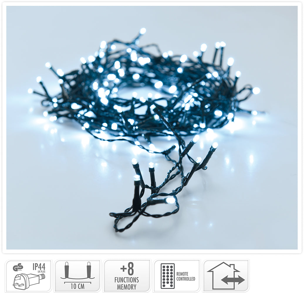 480 Ice White LED String Lights