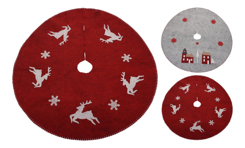 Light Up Winter Christmas Tree Skirt