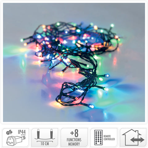 600 Multicolour LED Christmas Lights