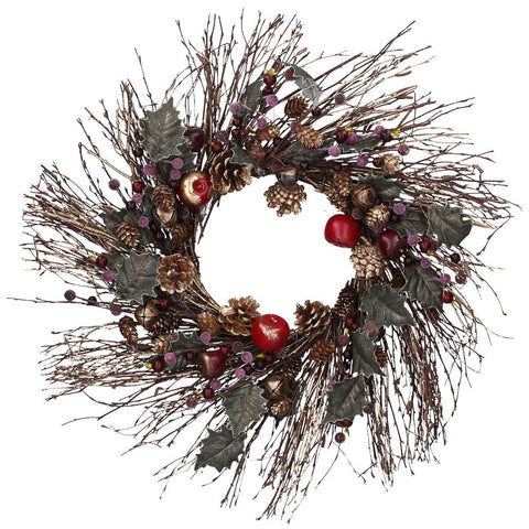 Gisela Graham Starburst Twig Christmas Wreath