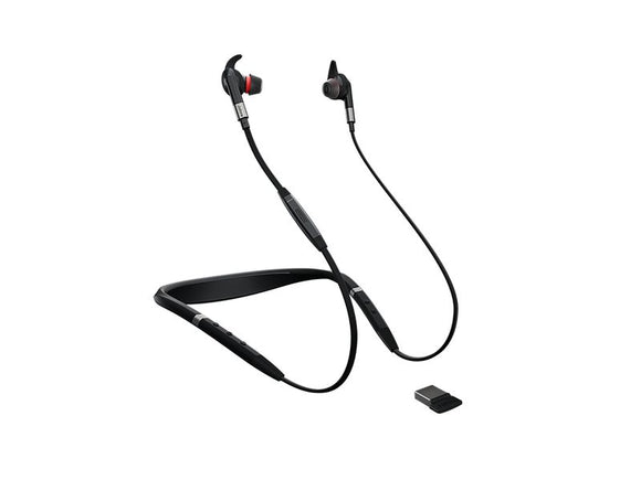 Jabra Headset Evolve 75e Duo MS