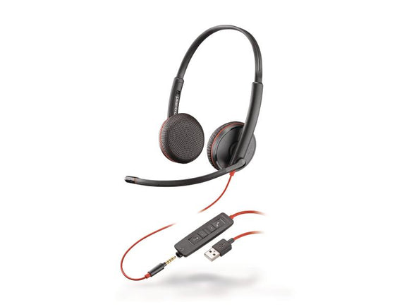 Poly Headset Blackwire 3225 USB Duo