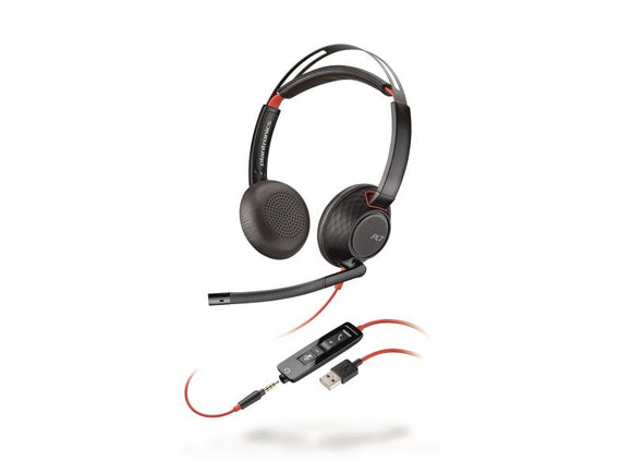 Poly Headset Blackwire 5220 USB Duo