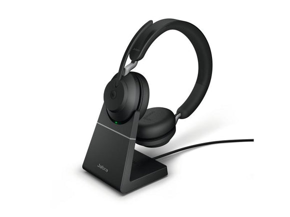 Jabra Headset Evolve2 65 Duo MS Schwarz, USB-A