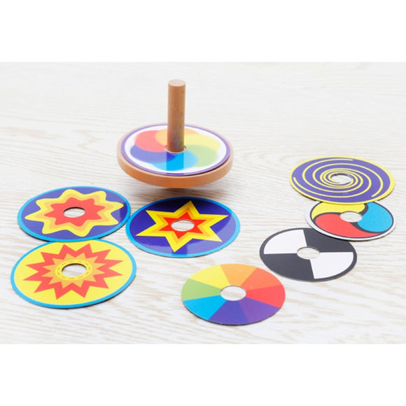 CREATIVE COLOR SPINNER SET
