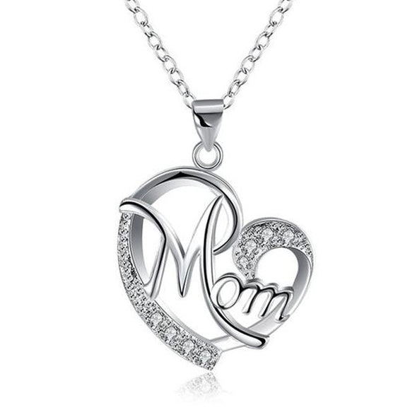STERLING SILVER MOMMA NECKLACE