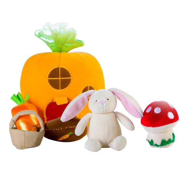 ADORABLE CARROT HOUSE SET