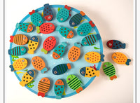 WOODEN ALPHABET FISH 26 PCS