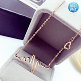 HEARTBEAT NECKLACE EKG
