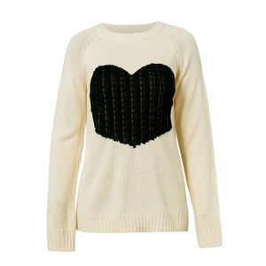 HUGE HEART SWEATER