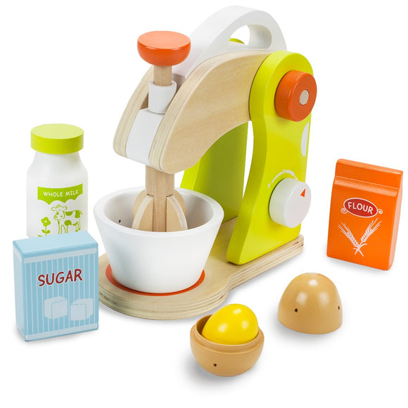 MONTESSORI WOODEN KITCHEN SET FOR BAKING (MIXER)